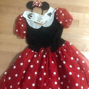 Official Disney- Minnie Mouse Adult Costume